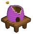 Purple beehive barn