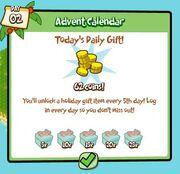 Day 2 Advent Calendar 2009