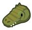 Alligator barn