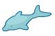 Bottlenose dolphin barn