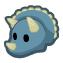 Triceratops barn