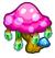 Giant mushroom small