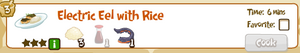 Electric eel with Rice