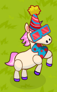 Party pony foal aciton