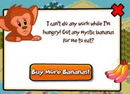 Monkey options popup no bananas new