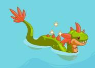 Sea monster harvestable