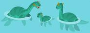 Plesiosaur family