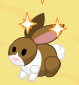 Baby bunny harvest