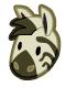 Zebra barn