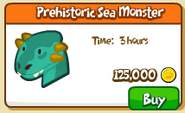 Prehistoric sea monster shop