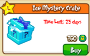 Ice mystery crate