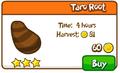 Taro root shop
