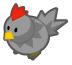 Grey chicken barn