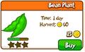 Bean plant shop