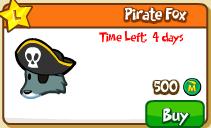 Pirate fox shop