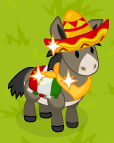 Mexian burro harvestable