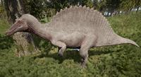 Albino Spinosaurus The Isle