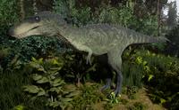 Green Tyrannosaurus Rex Juvenile The Isle