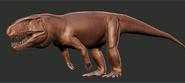 Rauisuchus Model Art The Isle