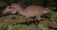 Beach Acrocanthosaurus The Isle