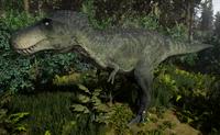 Green Tyrannosaurus Rex Sub-Adult The Isle