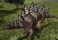 Yellow-Bellied Stegosaurus The Isle