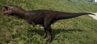 Melanistic Carnotaurus The Isle
