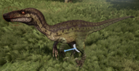 Jungle Utahraptor The Isle