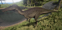 Brown Suchomimus The Isle
