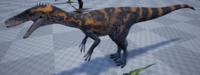 Orange Herrerasaurus The Isle