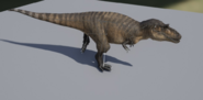 Albertosaurus 3D Skeleton Model The Isle