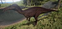 Melanistic Suchomimus The Isle