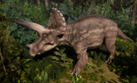Original Triceratops The Isle
