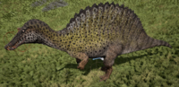 Spotted Spinosaurus The Isle