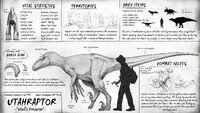 Utahraptor Dossier The Isle