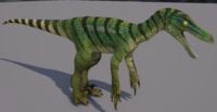 Green Velociraptor The Isle
