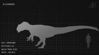 Allosaurus Dossier The Isle