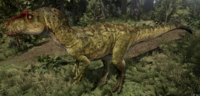 Green Allosaurus The Isle
