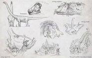 Puertasaurus Concept Art The Isle