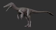 Juvenile Austroraptor 3D Model The Isle