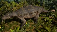 Green Ankylosaurus The Isle