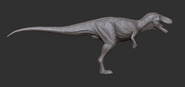 Juvenile TSL Tyrannosaurus Model 4 The Isle