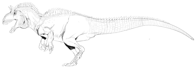 Image - Allosaurus Full Body Concept Art The Isle.png | The Isle ...