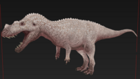 Albino Ceratosaurus The Isle