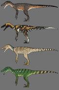 Velociraptor Skin Concept Art The Isle
