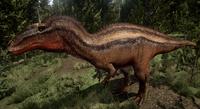 Canyon Acrocanthosaurus The Isle