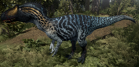 Icicle Allosaurus The Isle