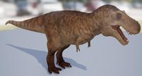 Sandstone Tyrannosaurus Rex Adult The Isle