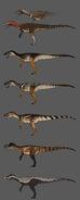 Herrerasaurus Skin Concept Art The Isle