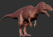 Arcocanthosaurus 3D Model The Isle